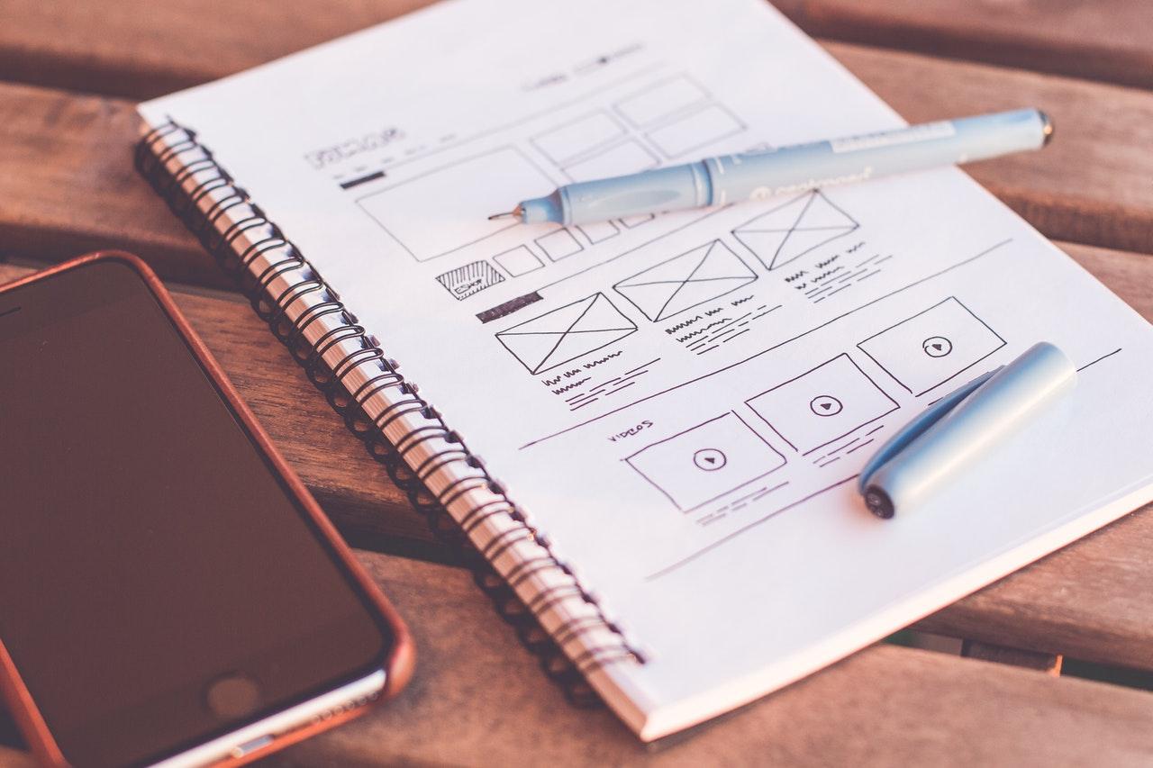 Wireframes de Diseño de una Página Web