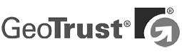 Logo de la compañía Geo Trust que provee certificados de seguridad digitales