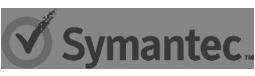 Logo de la compañía Symantec que provee certificados de seguridad digitales