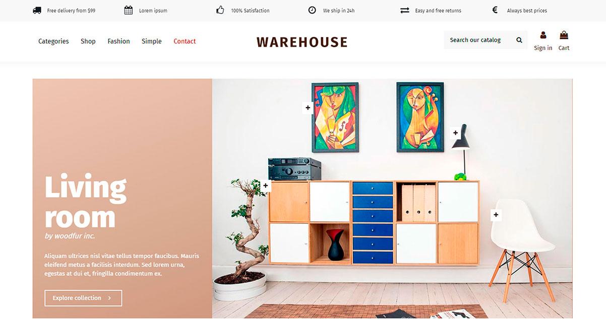 Cómo Actualizar el tema WareHouse para PrestaShop